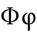 Greek Letter - Phi