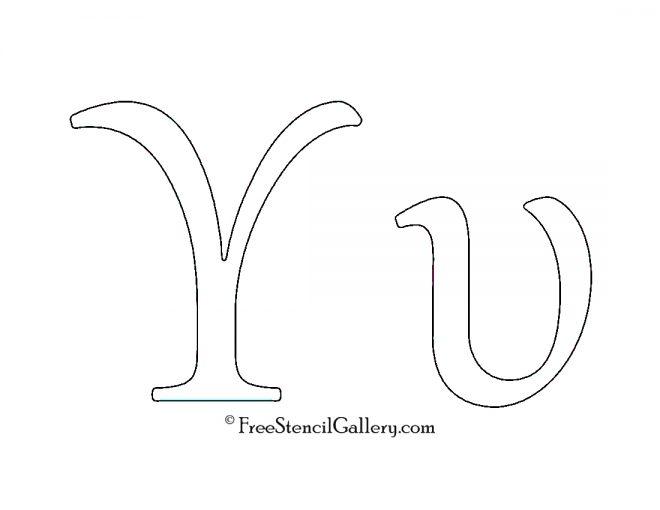Greek Letter - Upsilon