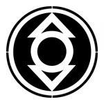 Indigo Lantern Corps Symbol Stencil