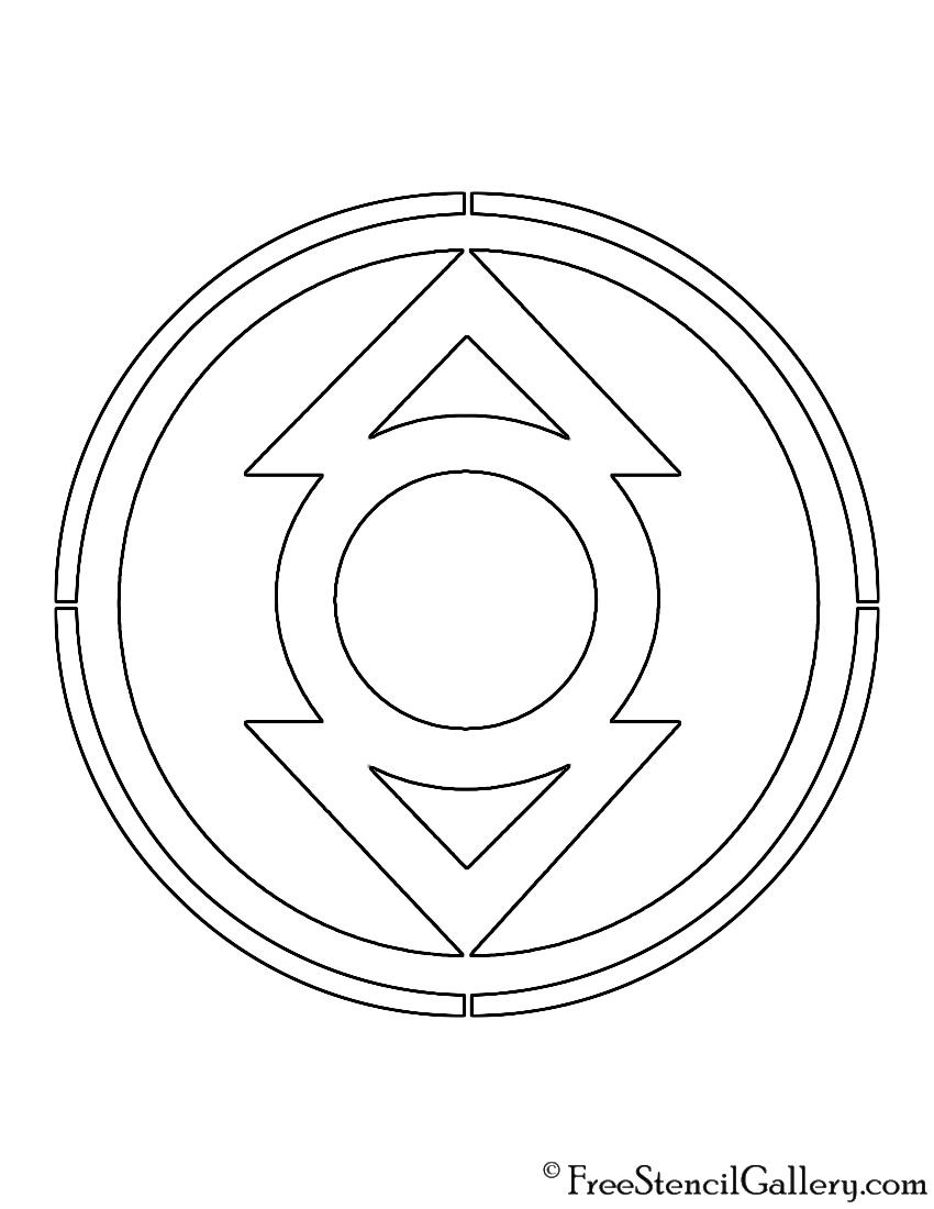Indigo lantern corps symbol - photo#15
