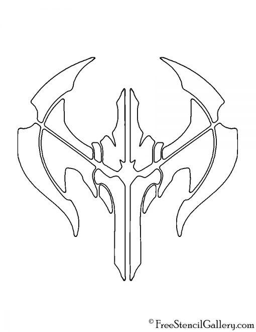 League of Legends - Noxus Crest Stencil