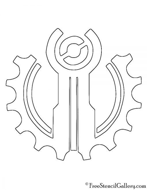 League of Legends - Piltover Crest Stencil