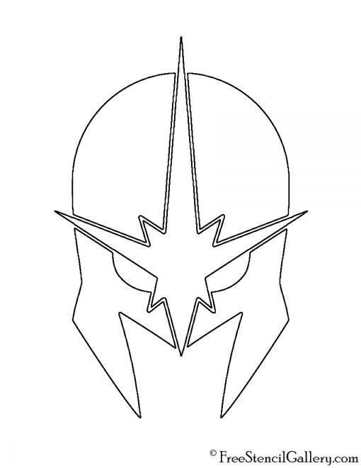 Nova Helmet Stencil
