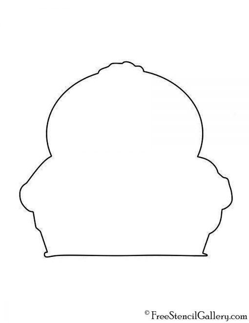 South Park  - Cartman Silhouette Stencil