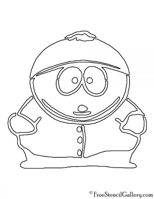 South Park Cartman Stencil