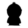 South Park - Stan Silhouette Stencil