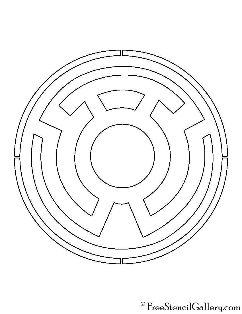 Indigo lantern corps symbol - photo#28
