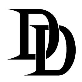 Daredevil Symbol Stencil Free Stencil Gallery