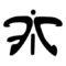 Fnatic Logo Stencil