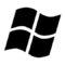 Microsoft Windows Logo 01 Stencil