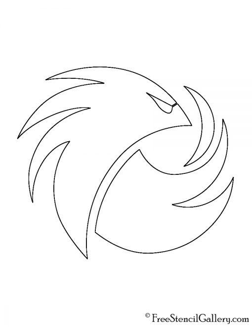 Phoenix1 Logo Stencil