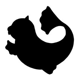 Pokemon Dewgong Silhouette Stencil Free Stencil Gallery