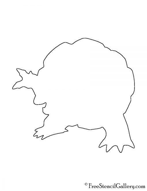 Pokemon - Golem Silhouette Stencil