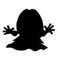 Pokemon - Jynx Silhouette Stencil