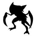 Pokemon - Kabutops Silhouette Stencil