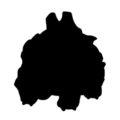 Pokemon - Rhyhorn Silhouette Stencil
