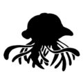 Pokemon - Tentacruel Silhouette Stencil