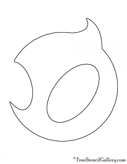 Team Dignitas Logo Stencil