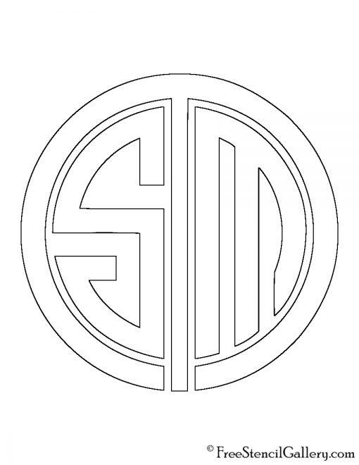 Team SoloMid Logo Stencil