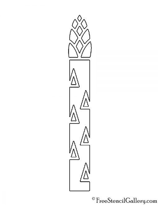 Asparagus Stencil