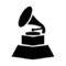 Grammy Award Stencil