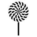 Lollipop Stencil