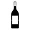 Wine Bottle Stencil