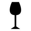 Wine Glass Stencil