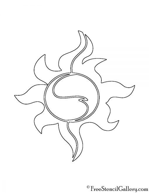 My Little Pony - Sunset Shimmer Cutie Mark Stencil