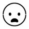 Emoji - Frowning Stencil