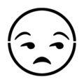 Emoji - Meh Stencil