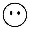 Emoji - No Mouth Stencil