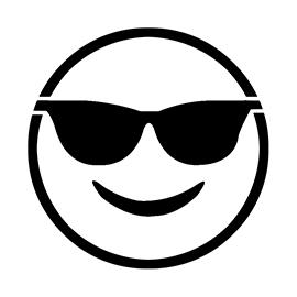 Emoji Glasses Coloring Pages Les Baux De Provence