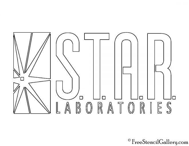 Star Laboratories Logo Stencil