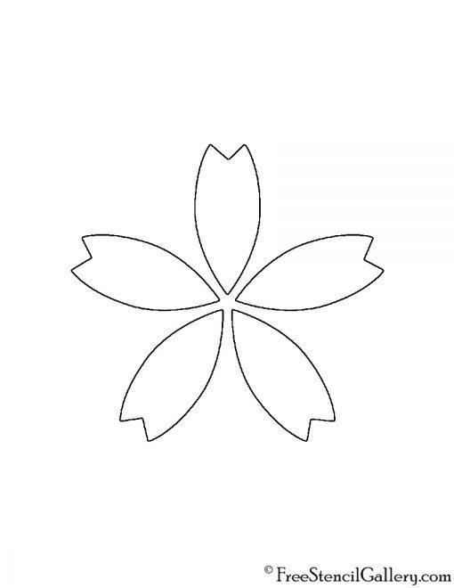 Flower 02 Stencil