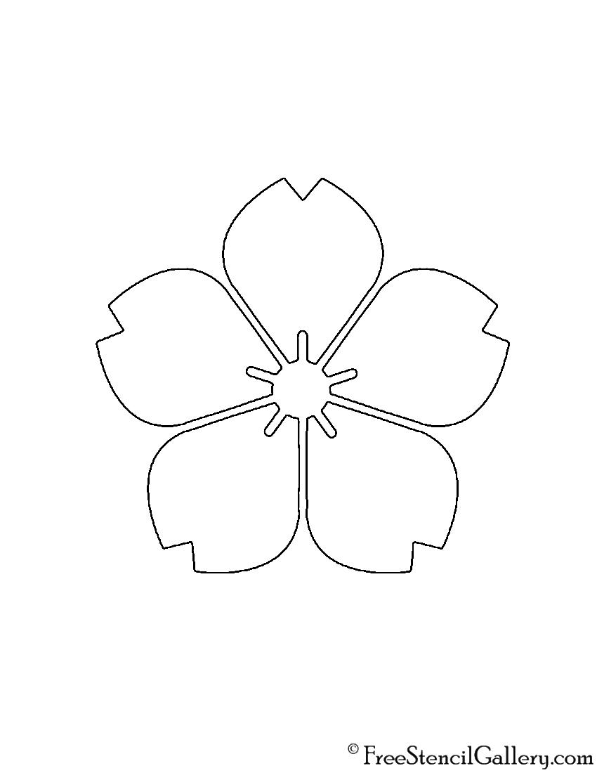 Flower stencils fashion design images sourcehttpfreestencilgalleryflower stencil izmirmasajfo