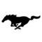 Ford Mustang Emblem Stencil