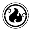 Lego - Elves Fire Symbol Stencil