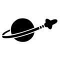 Lego - Space Symbol Stencil