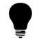 Light Bulb 03 Stencil