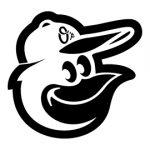MLB - Baltimore Orioles Logo Stencil