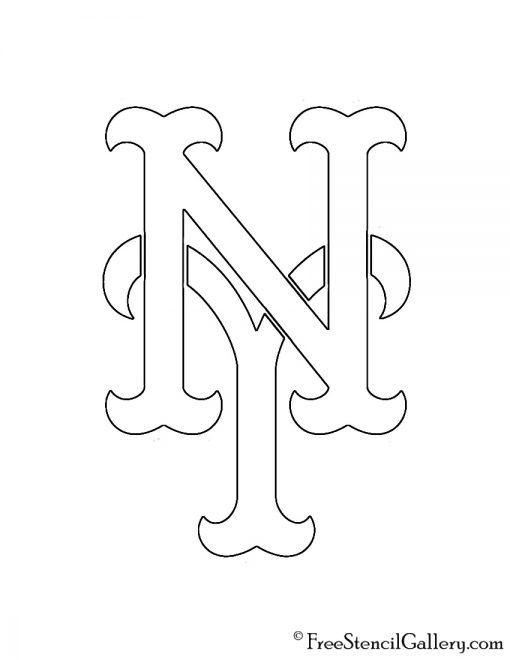 MLB - New York Mets Logo Stencil