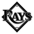 MLB - Tampa Bay Rays Logo Stencil