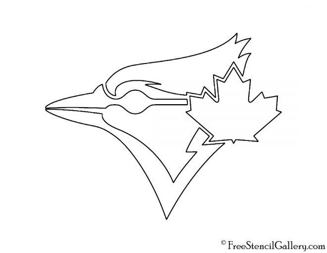 MLB - Toronto Blue Jays Logo Stencil