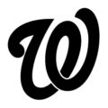 MLB - Washington Nationals Logo Stencil