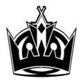NHL - Los Angeles Kings Logo Stencil