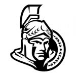 NHL - Ottowa Senators Logo Stencil