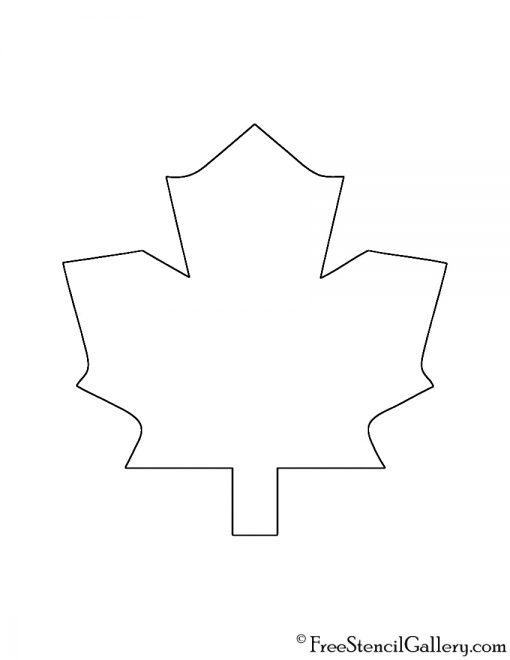 NHL - Toronto Maple Leafs Logo Stencil
