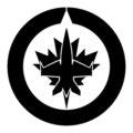 NHL - Winnipeg Jets Logo Stencil